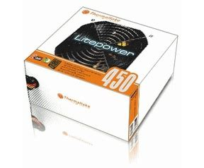 Thermaltake Lite Power 450 Watt Hitam thermaltake litepower 450w specificaties tweakers