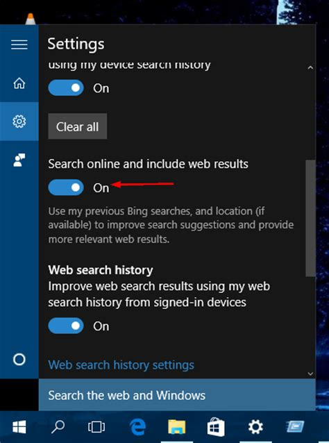 Windows 10 Tip How To Turn Off Bing Web Search In Start | windows 10 tip how to turn off bing web search in start