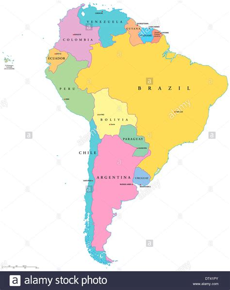 south america map labeled map of south and america and labeled besttabletfor me