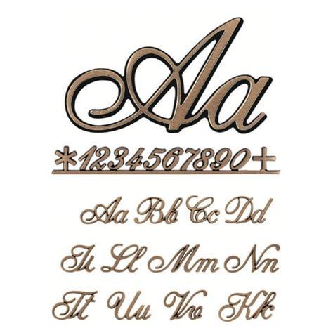 lettere e caratteri lettere e numeri corsivo 2003 2 3cm caratteri singoli o