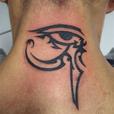 eye of horus tribal tattoo 45 best eye of ra tattoos designs meanings sun god