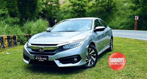honda civic philippines test drive honda civic 1 8 e cvt gadgets magazine