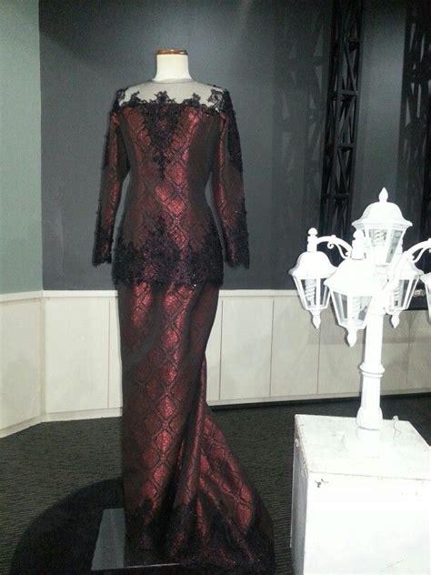 Batik Dress Amira songket peplum modern songket peplum and modern