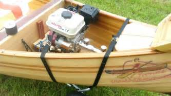 wooden boat engines canoe eagle feather engine inboard long tail teleflex