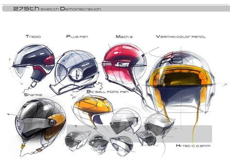 helmet design presentation helmet industrial design sketches helmet pinterest