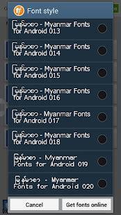 zawgyi one apk flipfont zawgyi myanmar fonts apk for nokia