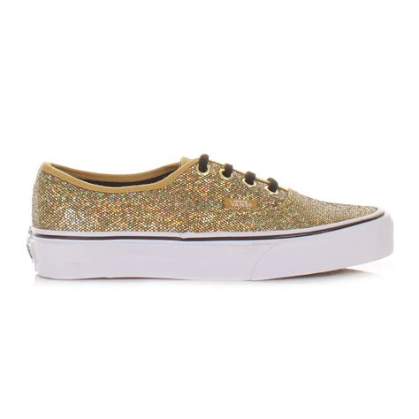 Moda Mio Gold Shoes New With Box womens vans authentic glitter gold micro dots
