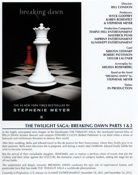 twilight book report the twilight saga breaking synopsis and promo poster