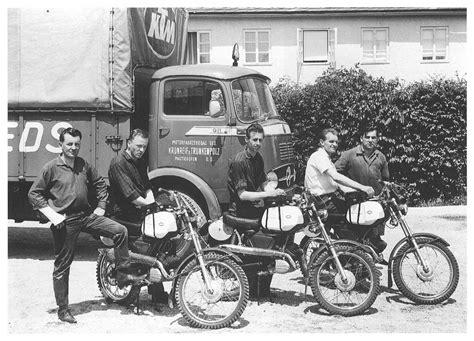 Motorrad Verkaufszahlen Ktm by Inthisyear1964 Ktm Comeback Mit Werksmaschinen Bei Den