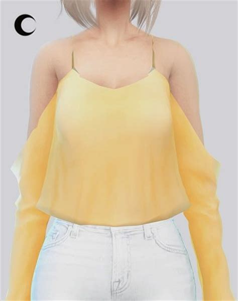 Crop Top Blouse Cc 198 best images about sims 4 on ea