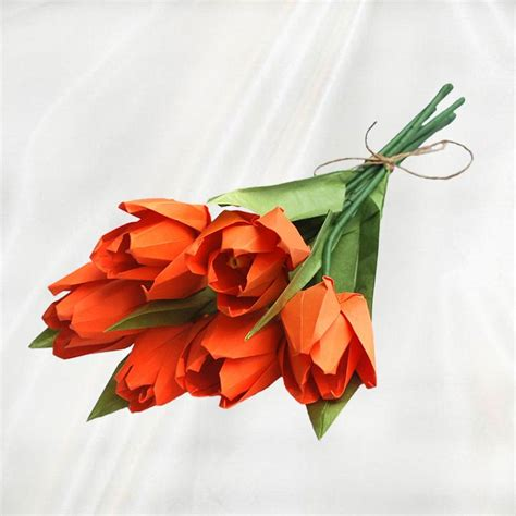 Origami Tulips Bouquet - 94 best origami flowers images on origami