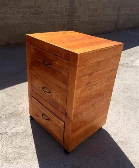 diy nightstand organizer pallet nightstand upscale pine pallet nightstand has lots