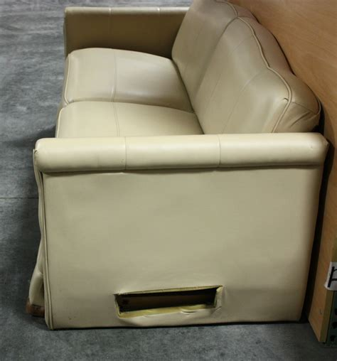 Rv Sleeper Sofas Rv Furniture Used Rv Ultra Leather Knife Sleeper Sofa For Sale Knife Flip Type