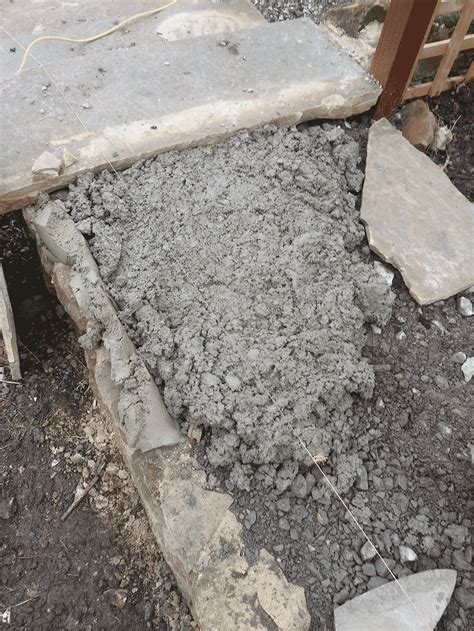 mortar bed how to lay crazy paving mark mcnee
