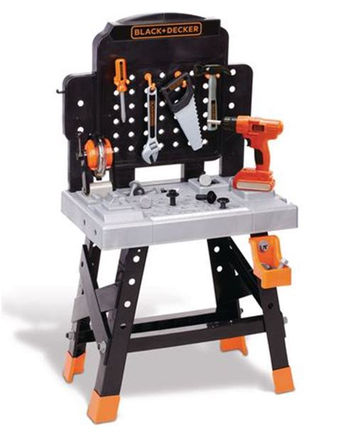 black and decker tool bench toy black decker mega power n play workbench playset