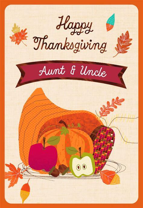 Thanksgiving Cards Hallmark cornucopia thanksgiving card with customizable family