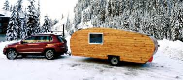Exterior Wood Paneling Homegrown Trailers Reimagines The Rv Brings Technology