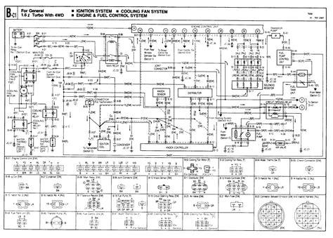 mazda  wiring diagram  wiper motor auto