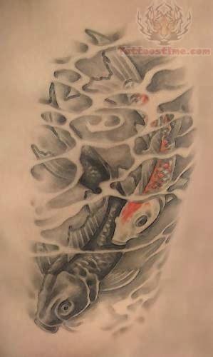 how to tattoo shade koi black shade