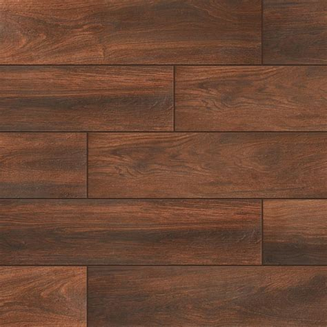 Wood Tile Flooring Home Depot by Daltile Evermore Autumn Wood 6 In X 24 In Porcelain