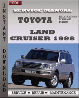 car engine repair manual 1998 toyota land cruiser on board diagnostic system toyota land cruiser 1998 engine workshop repair manual repair service manual pdf