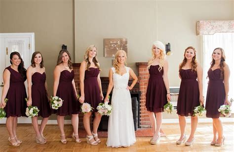 Bridesmaid Dresses Made In Usa - 25 best ideas about merlot wedding on autumn