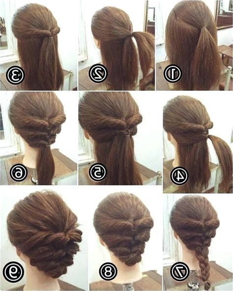 easy hairstyles at home for short hair easy hairstyles for short hair to do at home best short