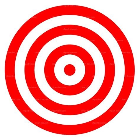 Clip On L Target by Target Clipart 32