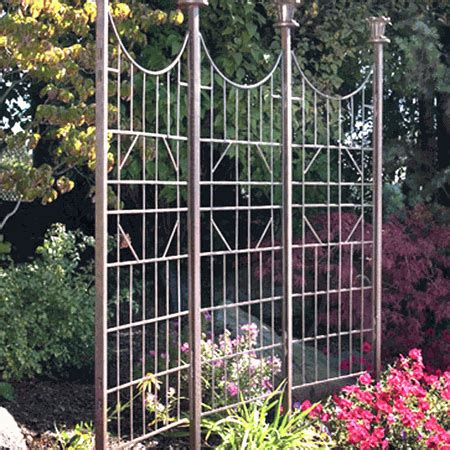 h potter three panel garden screen gar120