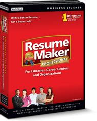 resume maker deluxe libraries resumemaker business