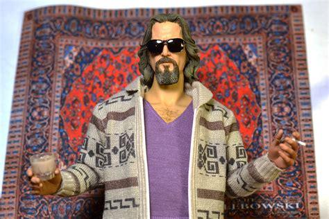 the dude s rug 12 quot 1 6 custom big lebowski the dude figure by rainman jeff bridges coen brothers