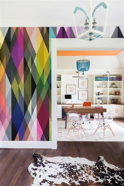 papeles para decoracion ideas para decorar con papeles pintados muy coloridos