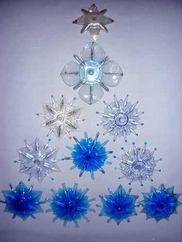 addobbi natalizi con bicchieri di plastica decorazioni natalizie con bottiglie di plastica 20 idee