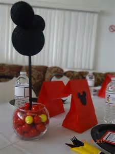 mickey mouse decorations for baby shower mickey mouse baby shower ideas photo 15 of 29