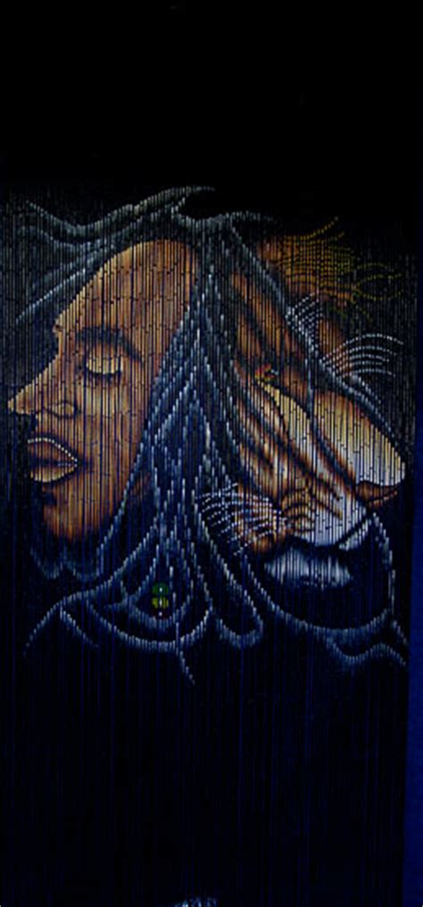 bob marley door beads beaded curtains bamboo door beads with bob marley image