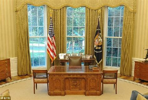 obama oval office curtains 坚毅书桌 图片 互动百科