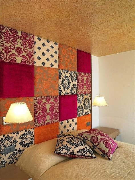 fabric covered headboards 1000 ideas about padded fabric headboards on