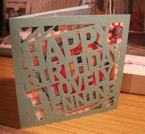 Unique Handmade Cards For Birthday - birthday card some unique birthday cards unique