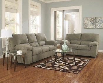 sage green couch decorating idea ashley zadee sage green sofa couch loveseat recliner
