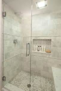 Enfield girls bath white marble shower designed by emily k tryson