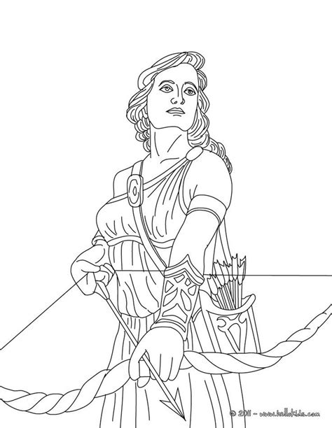 coloring pages of greek gods and goddesses coloring home