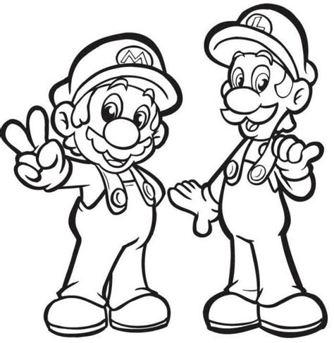 mario coloring pages for adults luigi coloring pages printable luigi coloring pages free