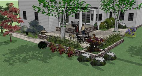 two level backyard landscaping ideas backyard scaping february 2015