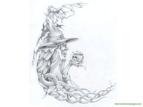 tattoo designs cool wizard designs flash best cool designs