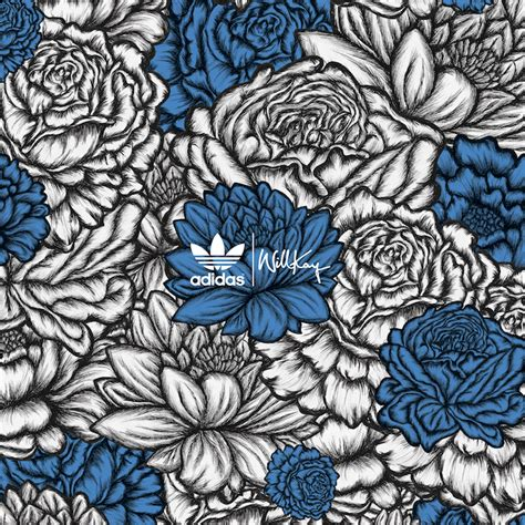 flower pattern adidas adidas x willkay christmas collaboration people of print