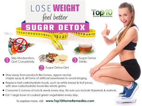 Home Remedy For Sugar Detox by Lose Weight Feel Better Sugar Detox In Just 3 Days Top