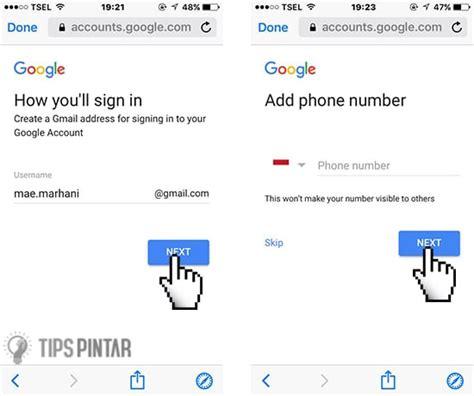 cara membuat gmail di hp cara cepat dan mudah membuat gmail di hp iphone