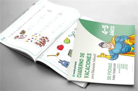 vacaciones infantil 4 aos 8468087556 8 cuadernos de vacaciones para imprimir infantil y primaria