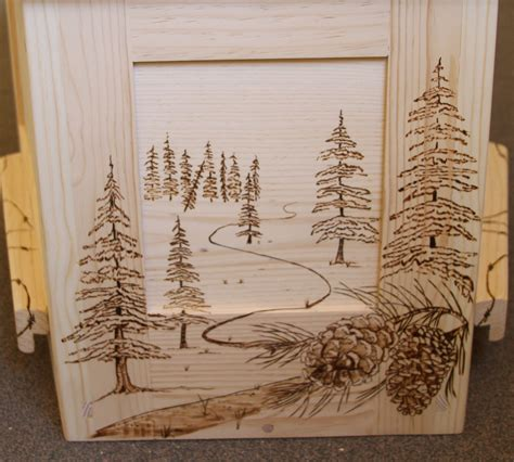 design art wood custom artwork the old pine box
