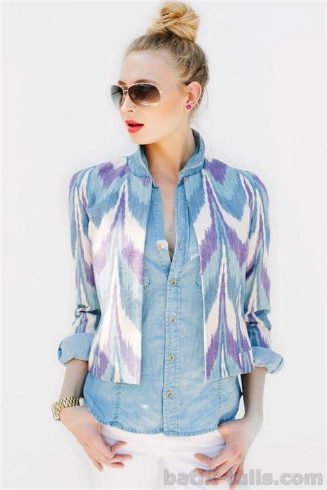 model baju batik rangrang modern batik tulis